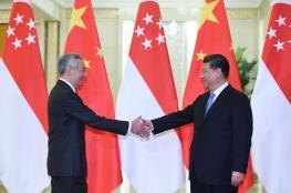 """""""بلومبرج"""": علاقة سنغافورة مع الصين وأمريكا تنطوي على مخاطر عدة"""