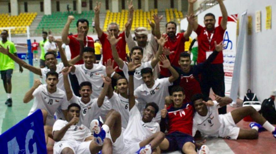 ناشئو الطائرة يعبرون السعودية لملاقاة البحرين في نصف نهائي البطولة العربية