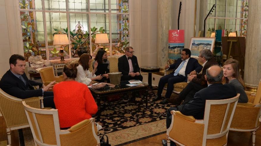 لقاءات واجتماعات معالي الوزير في فرنسا (2)