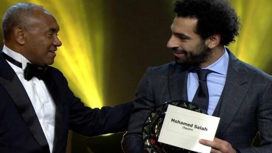 محمد صلاح أفضل لاعب أفريقي للعام الثاني على التوالي