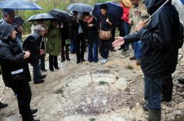 اكتشاف آثار أقدام وحش هائل عاش قبل 150 مليون سنة