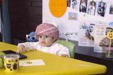 """الطفل محمد الهاشمي.. أصغر """"موظف سعادة"""" بالعالم"""