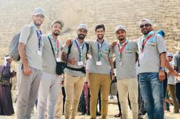 اختتام مشاركة جوالة جامعة السلطان قابوس بالملتقى الشبابي في مصر