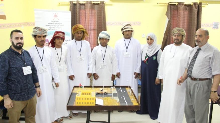 مشروع إنارة قريةالنجدة الفائز بالمركز الأول