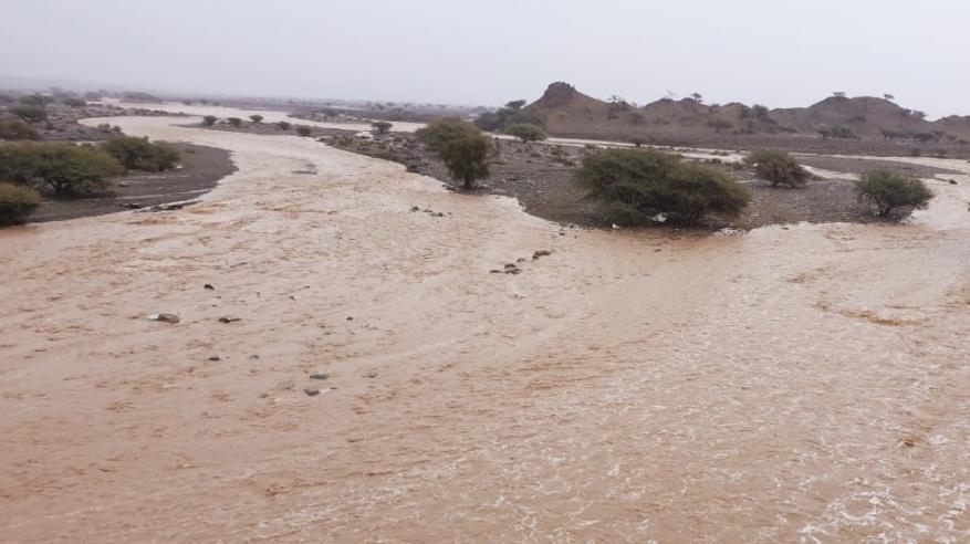 بالفيديو.. هطول أمطار على بعض المناطق بالسلطنة