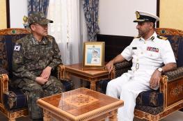 بحث المجالات البحرية بين السلطنة وجمهورية كوريا