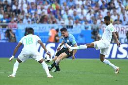 أوروجواي تتأهل مع روسيا الى دور 16 عقب فوزها على السعودية