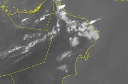 نشاط للخلايا والعواصف الرعدية على بعض المناطق بالسلطنة