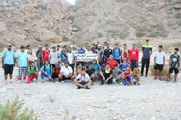 80 مغامرا في رحلة استكشافية لجبال العامرات