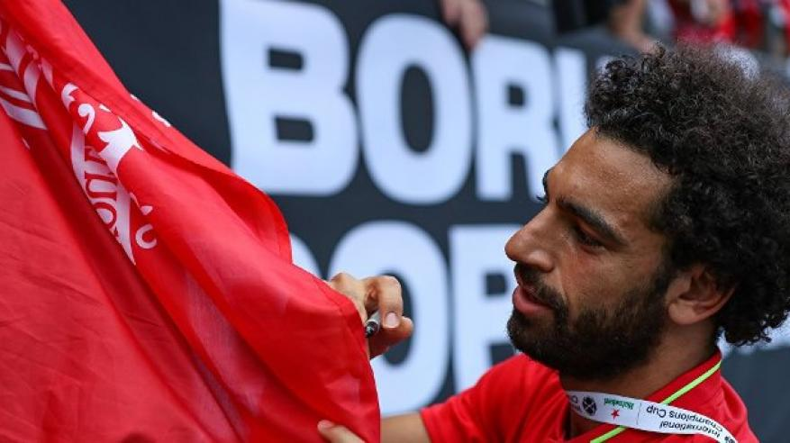 برشلونة يستهدف ضم محمد صلاح لخلافة ميسي ب250 مليون يورو