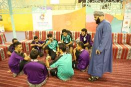 تواصل فعاليات معسكر شباب الأندية بظفار