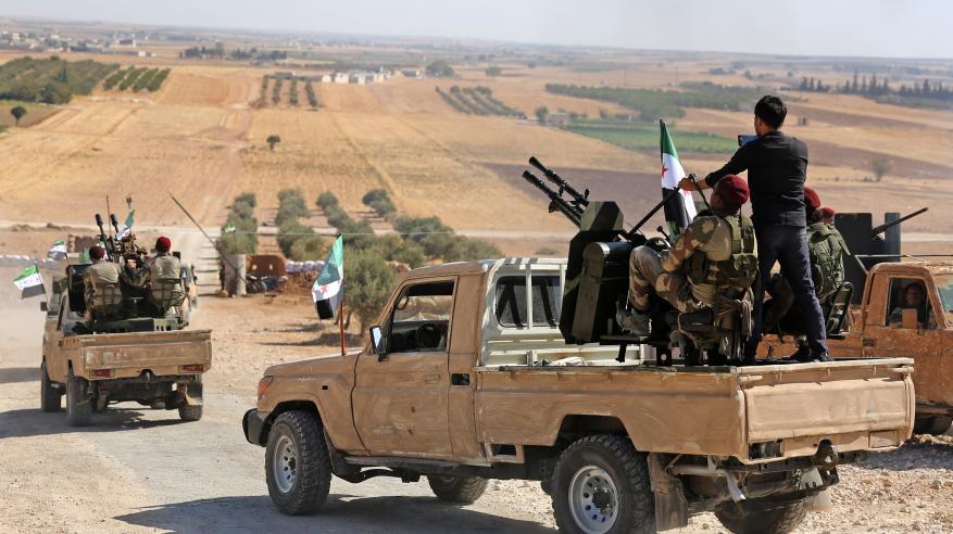 الجيش التركي يقصف الحدود السورية العراقية لقطع خطوط الإمداد عن الأكراد