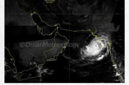 """""""الأرصاد"""" تصدر التقرير رقم 3 حول الإعصار المداري في بحر العرب"""
