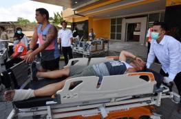 بالفيديو.. ارتفاع ضحايا زلزال إندونيسيا إلى 142 قتيلا