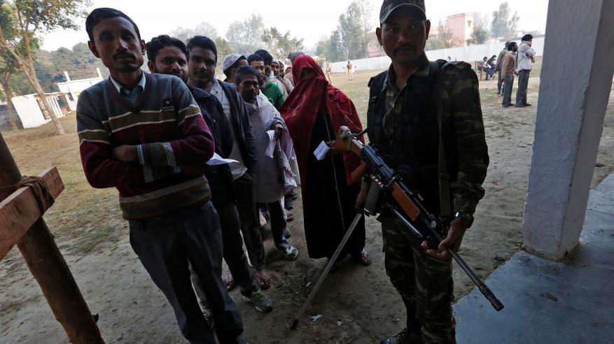 رئيس وزراء الهند يواجه أكبر اختبار انتخابي منذ وصوله للسلطة