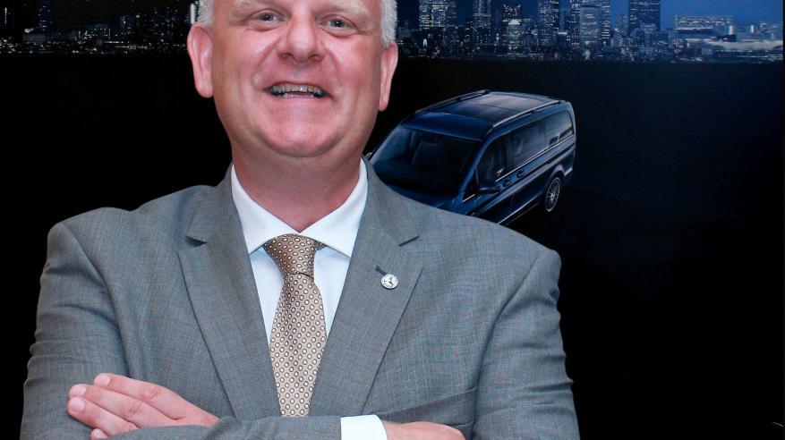 """مدير جديد لـ""""المركبات التجارية"""" في """"مرسيدس - بنز عمان"""""""