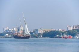 زينة البحار تختتم مشاركتها في احتفالات بحرية بالهند