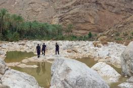 استمرار عمليات البحث عن العائلة المفقودة بوادي بني خالد
