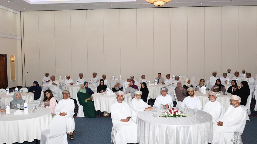 """""""وزيرالصحة"""" في حفل تكريم المتقاعدين: كنتم على قدر المسؤولية والأمانة وخير من تولى المناصب"""