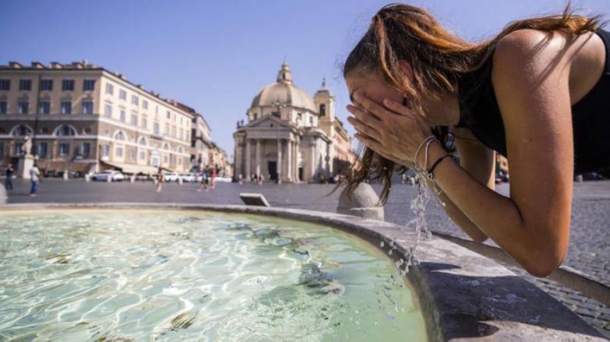 """موجة حر """"غير مسبوقة"""" تضرب أوروبا"""