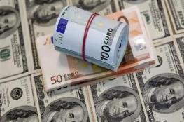 اليورو يواصل الانخفاض.. والدولار قرب أعلى مستوى في 7 أشهر