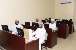 """تدريب موظفي """"تعليمية البريمي"""" على التطبيقات المكتبية الإدارية"""