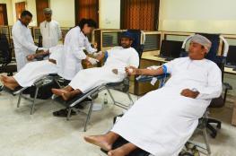 """""""تعليمية شمال الشرقية"""" تنفذ حملة للتبرع بالدم بإبراء"""