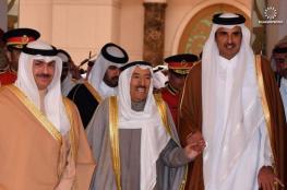 أمير الكويت ونظيره القطري يتبادلان وجهات النظر حول قضايا المنطقة