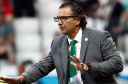 إقالة مدرب المنتخب السعودي الأول
