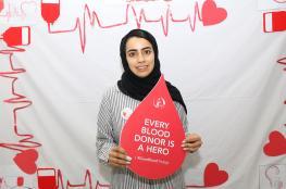 """حملة للتبرع بالدم في """"عمان للسياحة"""""""