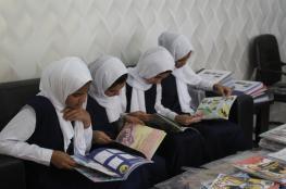 مجلة مرشد تنثر بذور المعرفة وتغرس حب القراءة في مدارس صور