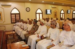 بلدي جنوب الباطنة يستعرض مشروع جامعة عمان