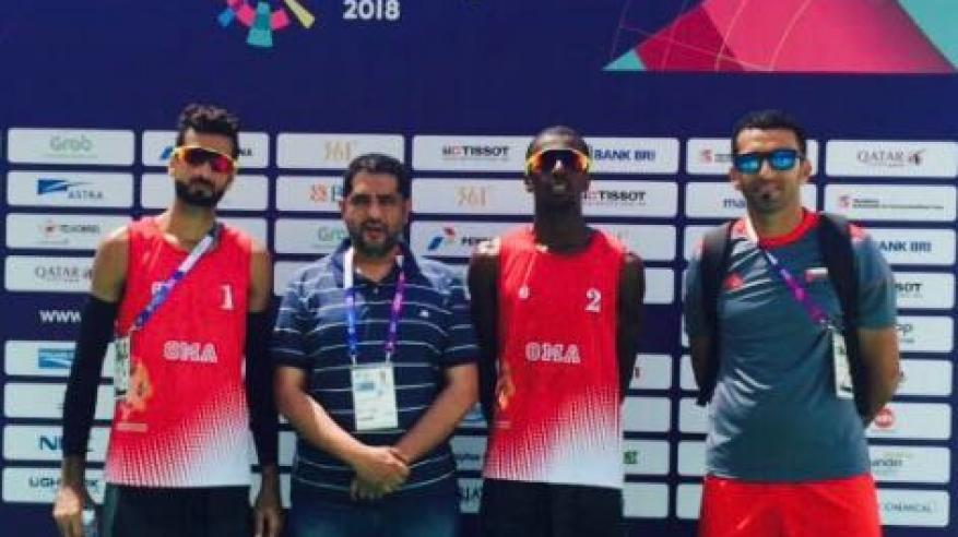 منتخبنا للكرة الطائرة الشاطئية يفوز على هونج كونج في البطولة الآسيوية