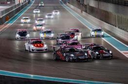 الزبير ثالثا في جولة أبوظبي من سباق كأس تحدي بورشه
