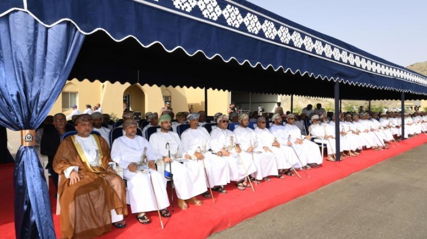 شرطة عمان السلطانية تحتفل بافتتاح المبنى الجديد لمركز شرطة العامرات3