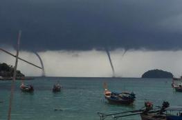 بالفيديو.. ظاهرة مدهشة على شواطئ تايلاند