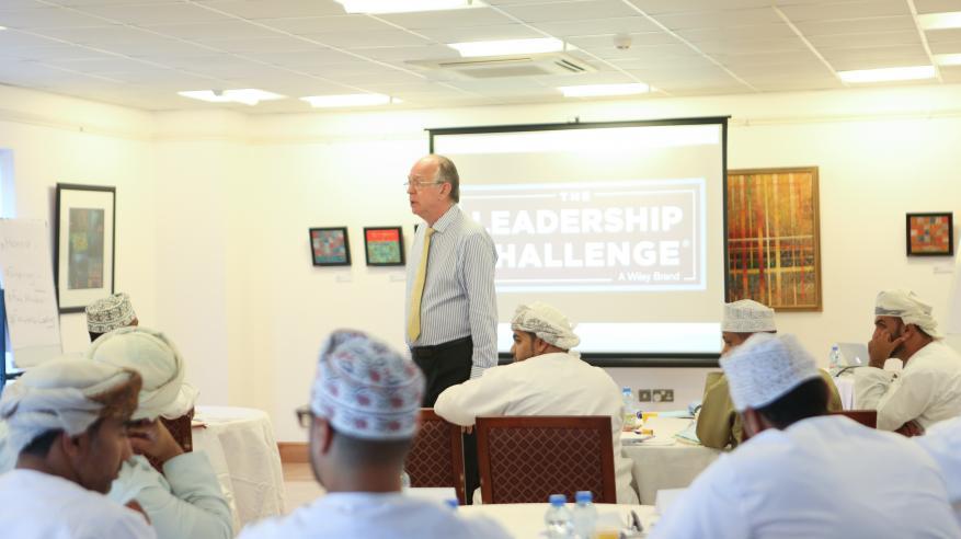 """ورشة عن التحديات القيادية لأعضاء """"الزبير للمؤسسات الصغيرة"""""""