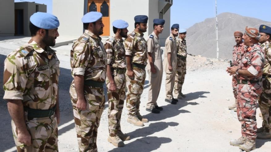 زيارات عسكرية لمسندم (5)