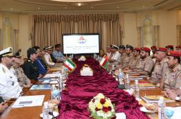 بدء اجتماع لجنة الصداقة العسكرية العمانية الإيرانية المشتركة بمسقط