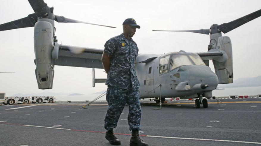 تدريب عسكري لأمريكا وبريطانيا وفرنسا قبالة الشواطئ البحرينية