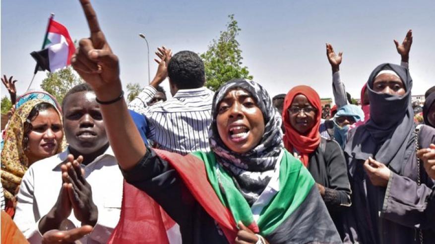 Sudan-protest