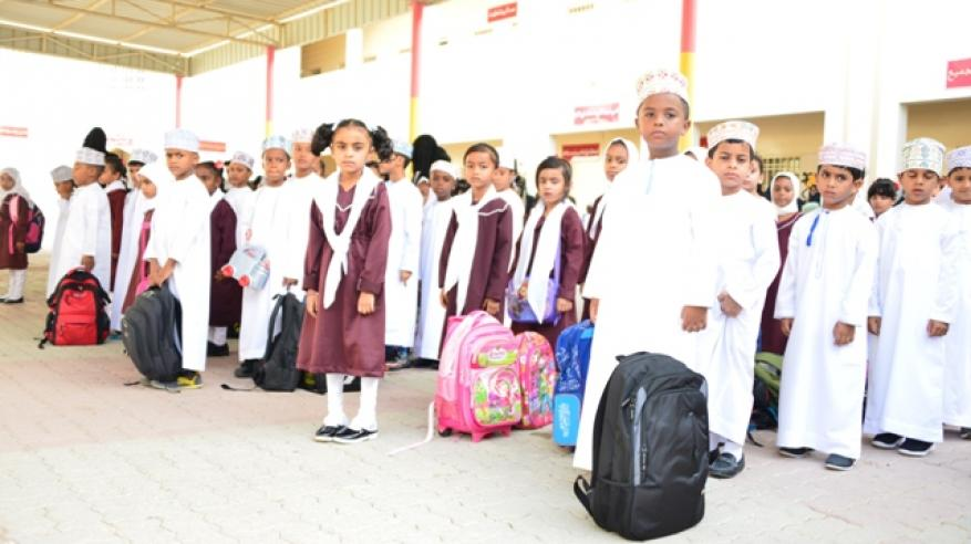 مدارس جنوب الشرقية تستقبل طلابها
