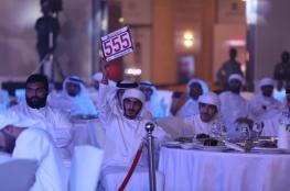 مبلغ خيالي مقابل لوحة مركبة رقم 7  في الإمارات
