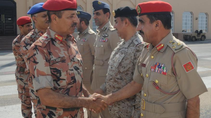 """النبهاني يشارك باجتماع اللجنة العسكرية العليا لرؤساء الأركان بـ""""دول التعاون"""""""