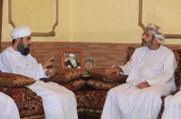 قائد بعثة الحج العسكرية يلتقي رئيس البعثة العمانية في مكة المكرمة
