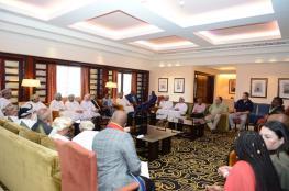 """""""الغرفة"""" تستقبل وفدا من مقاطعة مبومالانجا بجنوب إفريقيا لتأسيس شراكات تجارية"""