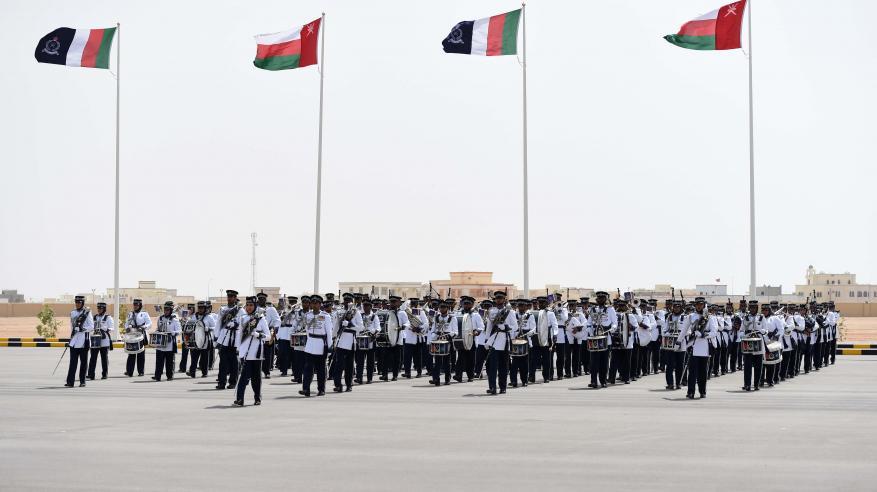 شرطة عمان السلطانية تحتفل بافتتاح مركز شرطة ثمريت6