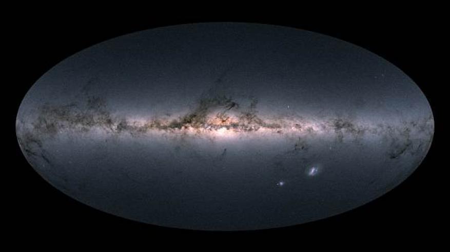 نجوم هاربة تدخل مجرة درب التبانة