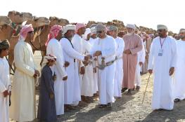 """انطلاق فعاليات مهرجان """"النعيمي"""" بمشاركة 1211 من الهجن والخيول العربية الأصيلة"""