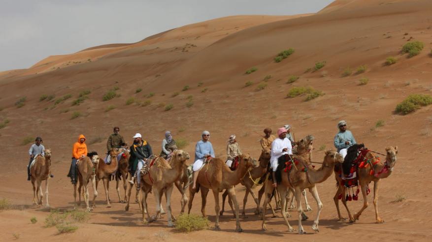 قافلة حداء الصحراء